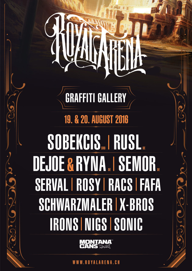 Graffiti Gallery_Lineup Grafik 2016