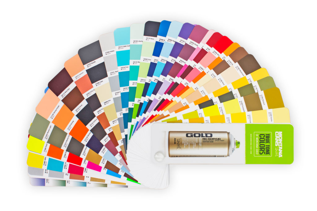 Montana Gold Spray Paint Color Chart Rebellions