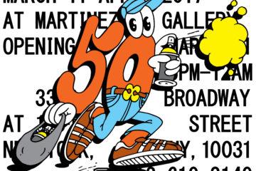 Martinez Gallery presents 50 50 Exhibition Mina Bruce