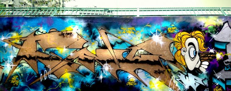 INTRODUCING GRAFFITI ARTIST FUNC88 UB
