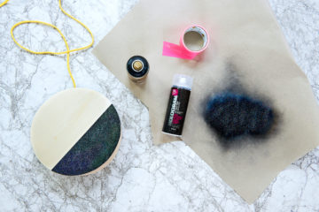 VIDEO HOW TO USE MONTANA HOLOGRAM GLITTER EFFECT