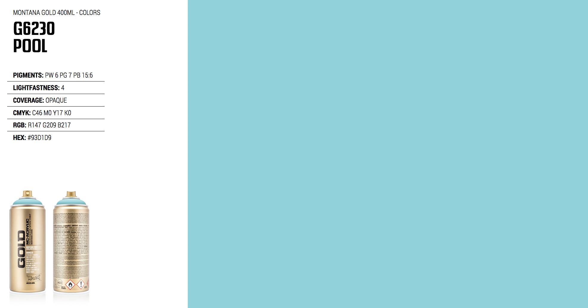 montana gold color g6230 pool montana cans blog. Black Bedroom Furniture Sets. Home Design Ideas