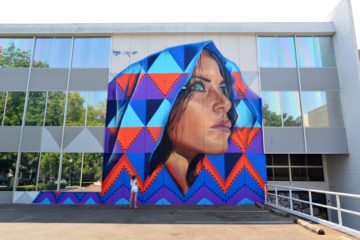 Adnate The American Natives Mural