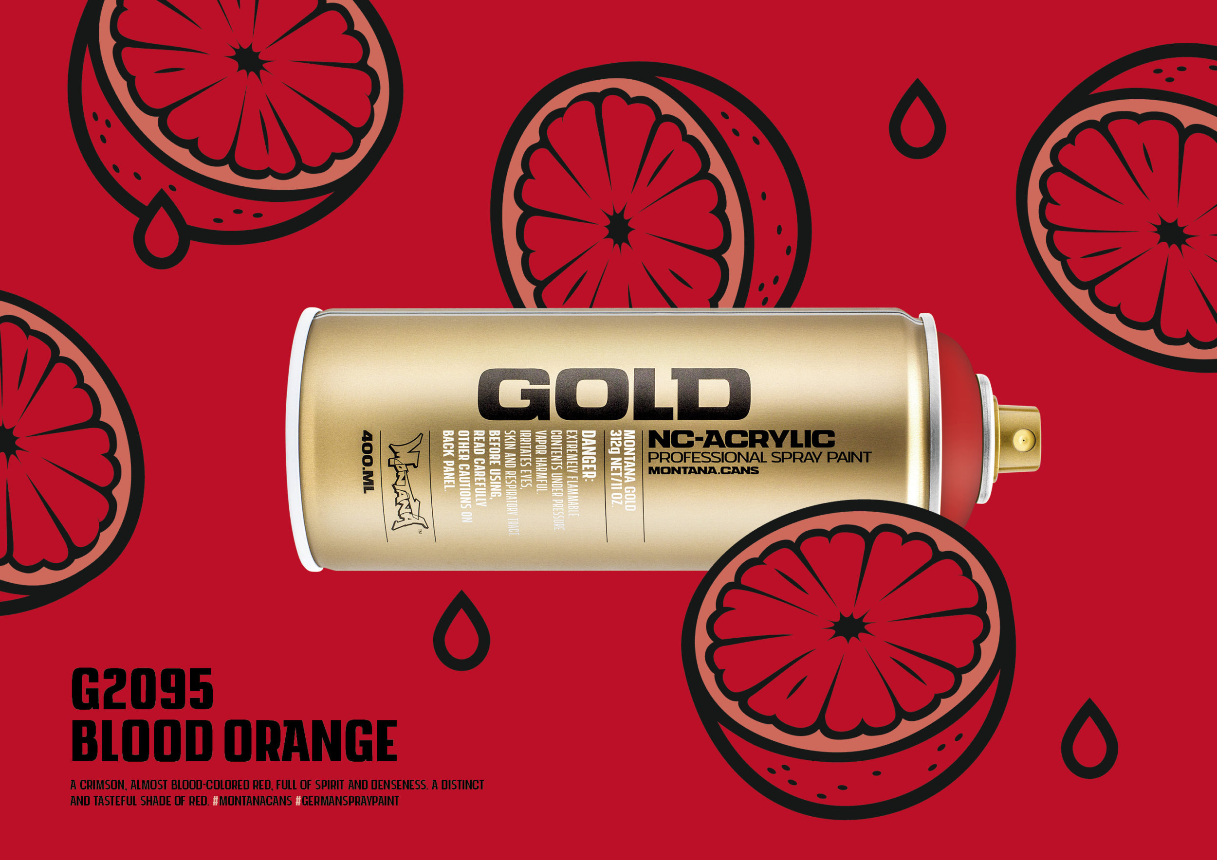 Montana Gold G2095 Blood Orange Of The G2000 Series
