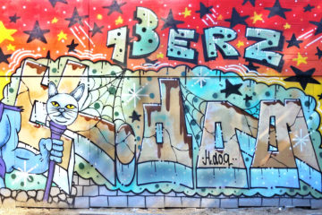 INTRODUCING GRAFFITI ARTIST SUPERSPRAY