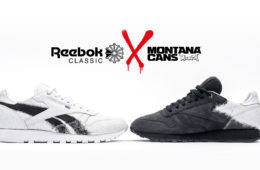 Reebok Classic x Montana Cans Collabo Fall Winter 2017