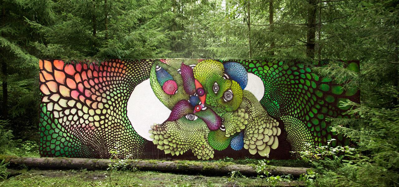 INTRODUCING GRAFFITI ARTIST CAROLINA FALKHOLT