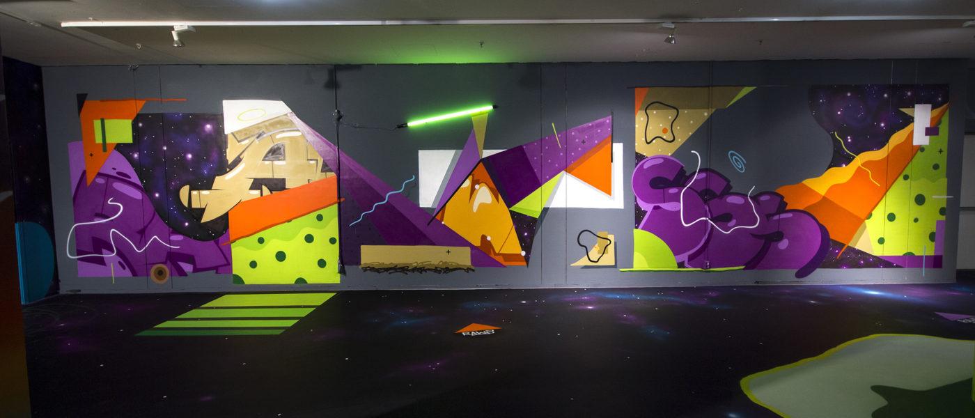 INTRODUCING GRAFFITI ARTIST RAWS