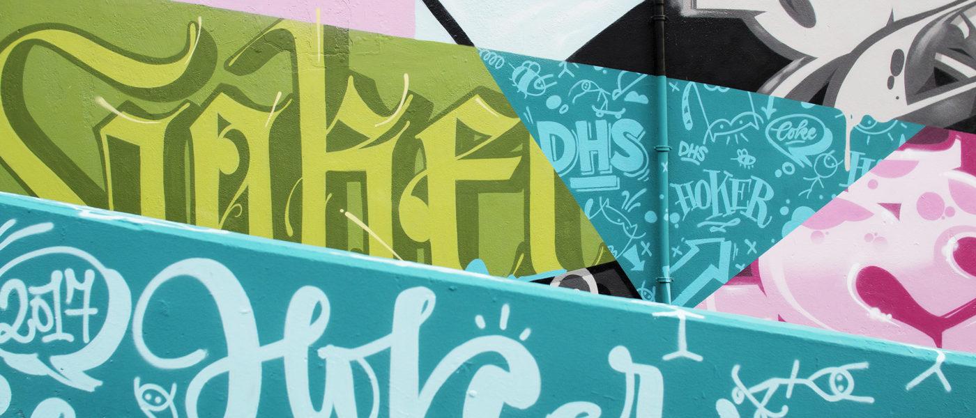 INTRODUCING GRAFFITI ARTIST HOKER ONE