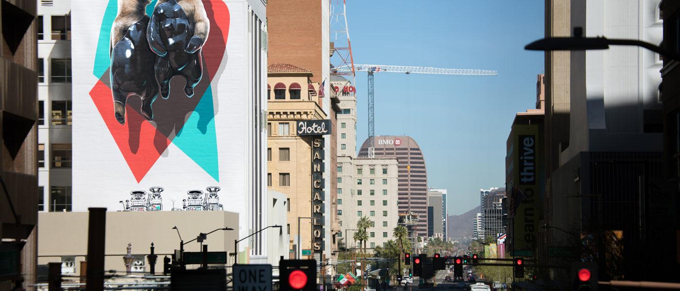 New NEVERCREW mural in Phoenix Arizona