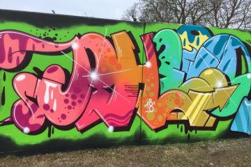 WALL UPDATE BY GRAFFITI WRITER PHEO PART II